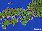 2021年04月05日の近畿地方のアメダス(日照時間)