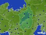 2021年04月05日の滋賀県のアメダス(風向・風速)