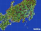 2021年04月06日の関東・甲信地方のアメダス(日照時間)