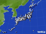 アメダス実況(風向・風速)(2021年04月08日)