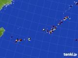 沖縄地方のアメダス実況(日照時間)(2021年04月11日)