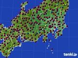 2021年04月11日の関東・甲信地方のアメダス(日照時間)