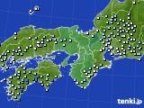 2021年04月13日の近畿地方のアメダス(降水量)