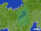2021年04月13日の滋賀県のアメダス(風向・風速)