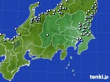 2021年04月14日の関東・甲信地方のアメダス(降水量)