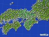 2021年04月14日の近畿地方のアメダス(気温)