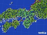 2021年04月16日の近畿地方のアメダス(日照時間)