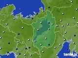 2021年04月16日の滋賀県のアメダス(風向・風速)