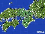 2021年04月17日の近畿地方のアメダス(気温)
