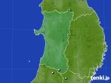 秋田県のアメダス実況(降水量)(2021年04月19日)