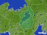 2021年04月19日の滋賀県のアメダス(風向・風速)