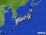 アメダス実況(風向・風速)(2021年04月20日)