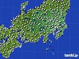 2021年04月23日の関東・甲信地方のアメダス(風向・風速)