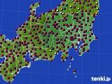 2021年04月26日の関東・甲信地方のアメダス(日照時間)