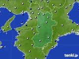 2021年04月27日の奈良県のアメダス(風向・風速)