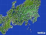 2021年04月29日の関東・甲信地方のアメダス(降水量)
