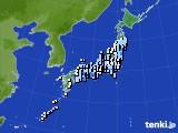 2021年04月29日のアメダス(降水量)