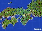 2021年04月30日の近畿地方のアメダス(日照時間)