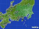2021年05月01日の関東・甲信地方のアメダス(降水量)