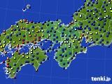 2021年05月01日の近畿地方のアメダス(日照時間)