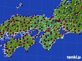 2021年05月03日の近畿地方のアメダス(日照時間)