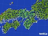 2021年05月05日の近畿地方のアメダス(日照時間)