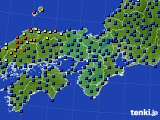 2021年05月07日の近畿地方のアメダス(日照時間)