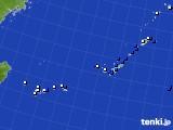 沖縄地方のアメダス実況(風向・風速)(2021年05月07日)