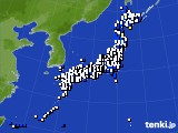 アメダス実況(風向・風速)(2021年05月08日)
