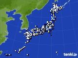 アメダス実況(風向・風速)(2021年05月09日)
