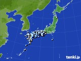 アメダス実況(降水量)(2021年05月12日)