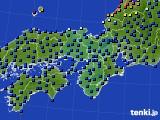 2021年05月12日の近畿地方のアメダス(日照時間)