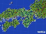 2021年05月13日の近畿地方のアメダス(日照時間)