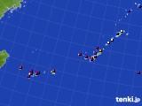 沖縄地方のアメダス実況(日照時間)(2021年05月15日)