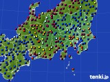関東・甲信地方のアメダス実況(日照時間)(2021年05月15日)