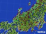 北陸地方のアメダス実況(日照時間)(2021年05月15日)