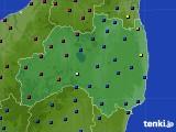 福島県のアメダス実況(日照時間)(2021年05月15日)
