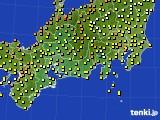 東海地方のアメダス実況(気温)(2021年05月15日)