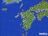 九州地方のアメダス実況(気温)(2021年05月15日)
