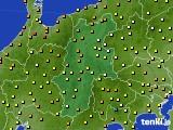 長野県のアメダス実況(気温)(2021年05月15日)