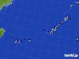 沖縄地方のアメダス実況(風向・風速)(2021年05月15日)