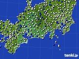 東海地方のアメダス実況(風向・風速)(2021年05月15日)