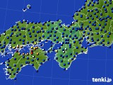 2021年05月16日の近畿地方のアメダス(日照時間)