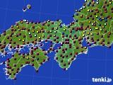 2021年05月29日の近畿地方のアメダス(日照時間)