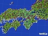 2021年06月02日の近畿地方のアメダス(日照時間)