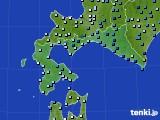 2021年06月04日の道南のアメダス(降水量)