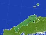 島根県のアメダス実況(降水量)(2021年06月14日)