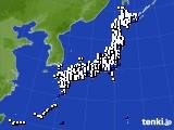 アメダス実況(風向・風速)(2021年06月21日)
