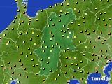 アメダス実況(気温)(2021年06月22日)