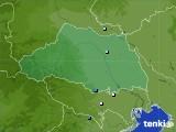 埼玉県のアメダス実況(降水量)(2021年06月23日)